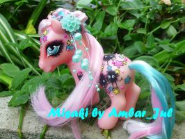 my little pony Misaki by AmbarJulieta