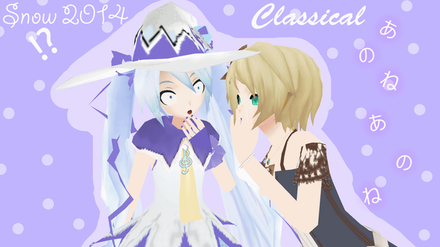 Snow 2014 and Classical Rin Download by AlexIsDeadddx