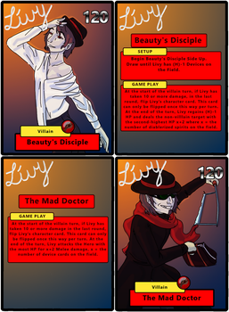 SotM Fan Set: Livy Character Cards by crazyshiro