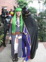 Katsucon 2013 CC and Lelouch by VocaloidBrit