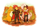 Pkmn Chibi - Visiting the Dragon Master by neshirys