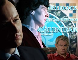 Sherlock Digital Paintings Calendar by Nero749