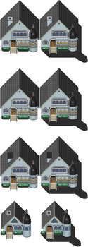 TILES:Victorian style houses by Lumi-Natis