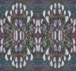 Cat Tail Grass Kaleidoscopic Stereo by aegiandyad