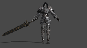 Darkwraith and Sword for XNALara XPS by MGSRaiden