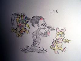 The Grim Adventures Of Lemmy and Wendy by Vyel