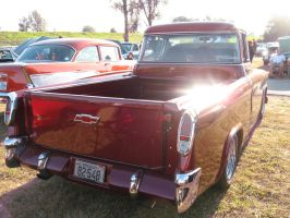 55' Red Chev Pickup D by Eagle07