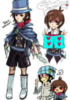 Genderbent Trucy by puchikun