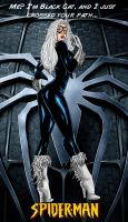 Black Cat Poster by Ahnirr