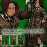 Victorian Woman - Pack One by Georgina-Gibson