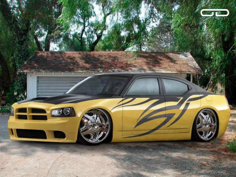 Dodge Charger SRT8 ODYAR by Deviantwheels