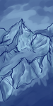 Mountain Scribbletest by Burlew