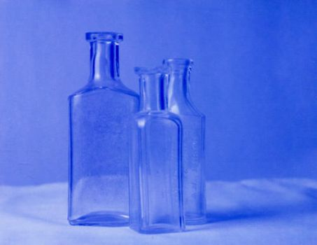 Bottles in Blue by polasam