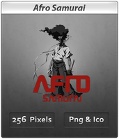 Afro Samurai - Anime icon by DevilL-Dante