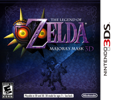 Zelda: Majora's Mask 3DS by CapuchinoMedia