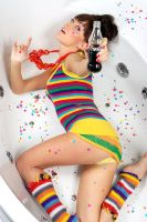 Alina in the bath by cooleekoff