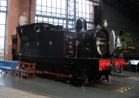 Great Eastern Railway 0-6-0 Tank Engine No. 87 by rlkitterman