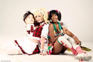 Chocolate Chainsaw and Maid Juliet 2 by llAngelusll