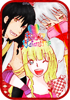 Happy Valentine for El and Vel by MarumeChiisa