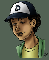 TWD: Teenage Clementine by CrystallineColey