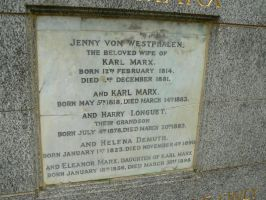 Karl Marx Grave Description by KaiHallarn111