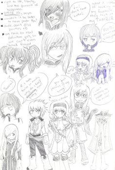Tales of Learning to Draw by JackTsuchiyama