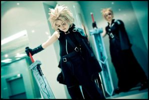 FFVII:AC - Mini me by love-squad