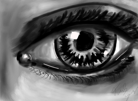 ipad eye by Demonyoshi