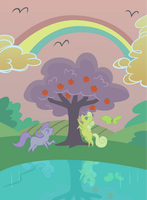 Peace in Ponyville by Capt-Nemo