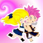 NaLu - Caught You! by DemonOfTheCakeXx