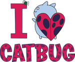 I Heart Catbug! by xkappax