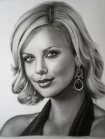 Charlize Theron by Mariannaeva
