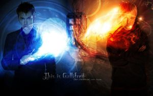 This is Gallifrey -Wallpaper- by AmbrixMUSE