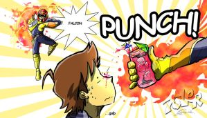 FALCON PUNCH by super-tuler
