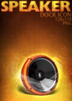 Speaker Dock Icon by dEGOnstruction