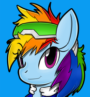 (Fashion 6) Rainbow Speedster Dash by Flam3Zero