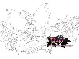 RARE 2012 Cover Linework by Ashalind
