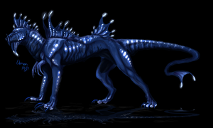 Bio-luminescent Predator Study by DemonML