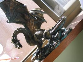 Dragon Sculpture 3 by YinYangStock