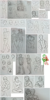DD: Laurence Sketch Dump by chiyokins