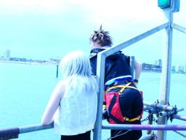 Soriku - At The Harbour by KellyJane