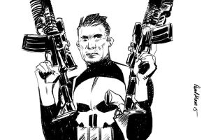 Frank Castle the Punsher by Paul-Moore