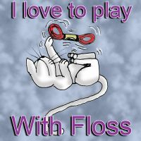 Floss Kitty by Joce-in-Stitches