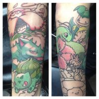 Pokemans sleeve by NeilTavaresArt