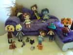 mix cast of lalaloopsy by Phoenixwingcreations