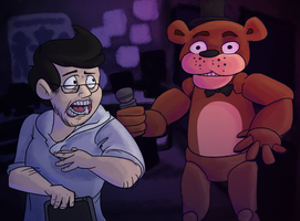Markiplier's Five Nights at Freddy's by SlushiOwl
