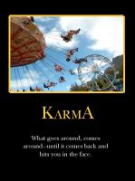 K is for Karma by demotivated16