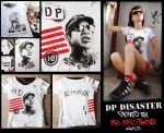 Duane Peters Disaster tee-shirt by Vikrapuff
