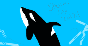 Stella's Calf 2012 DAM Drawing Attempt by OrcaAmy