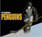 pittsburgh penguins by funkydoodler